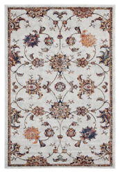 United Weavers Ivory Bulbs Vines Stems Contemporary Area Rug Floral 1815 30690