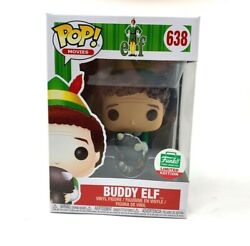 Funko Pop Buddy The Elf With Racoon 12 Days Of Christmas Funko Shop Exclusive