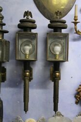 Pair Of Lanterns Period Beginning And039900 Suitable For Electric Power