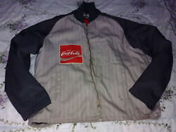 Vintage 1970s Coca-cola Riverside Delivery Driver Jacket W/ Zipout Lining 48long