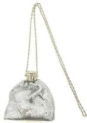 Vintage Clutch Metal Mesh Evening Purse For Cocktail Party Prom Wedding Banquet