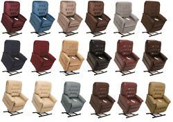 Pride Mobility Lc-358s Heritage Electric Recliner Power Lift Chair Small New