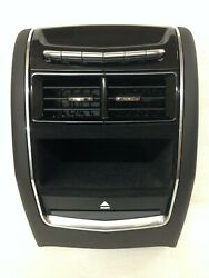 CT6 black center console tail piece with DVD BluRay slot and rear AC control