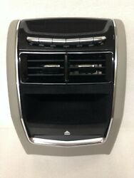 CT6 platinum center console tail piece with DVD BluRay slot and rear AC control