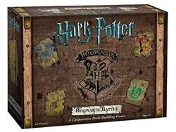 Harry Potter Hogwarts Battle - A Cooperative Deck Building Game - Usaopoly Free