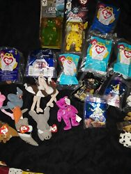 Lot Of 22 Vintage Happy Meal Mcdonalds Toys Mixed Some Are Sealed.