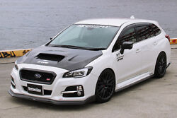 Chargespeed 3-piece Full Lip Kit Front Side Rear For Subaru Levorg Carbon