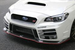 ChargeSpeed Type-3A Front Bumper for Subaru WRX VA STI / S4 (Carbon)