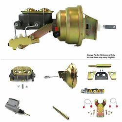 1960-62 Chevy Truck Mt Fw Mount V8 Sbc Power 11 Single Booster Kit Disc/disc