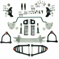 Mustang Ii 2 Ifs Front End Kit For 32-47 Studebaker Stage 2 Standard Spindle Ho