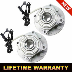 Pair Front Wheel Hub Bearing Assembly For Ram 2500 3500 4wd 2013 - 2018 W/abs