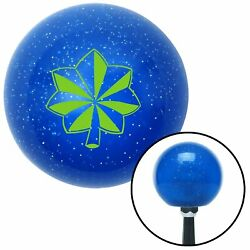 Green Officer 04 - Major And Lt. Colonel Blue Metal Flake Shift Knob Parts