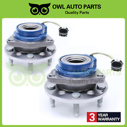 Pair Front Wheel Bearing Hub For Buick Chevy Pontiac Cadillac Olds W/ Abs 513087