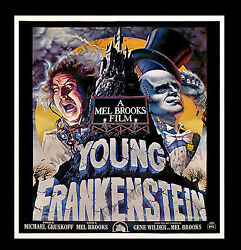 YOUNG FRANKENSTEIN  7-Sheet Movie Poster '74 ONLY KNOWN TO EXIST!  ARTIST SAVED!