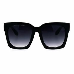SUPER Oversized Square Sunglasses Womens Modern Hipster Fashion Shades $12.95