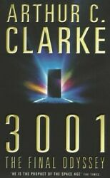 3001 The Final Odyssey By Clarke Arthur C. Paperback Book The Fast Free