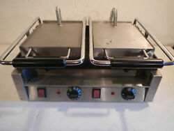 Omcan Commercial Contact Grill: Model# 21466: WORKS