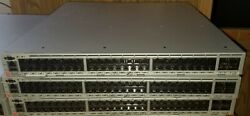 Brocade Br-vdx6740t-64-r Switch 48port 10gbase-t And 4 Qsfp+ Ports W/ 2 Psu