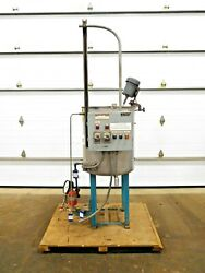 Mo-3042, Stainless 50 Gallon Chemical Mixing Tank. 304 Ss. 1/4 Hp. 115 V. 1 Ph.