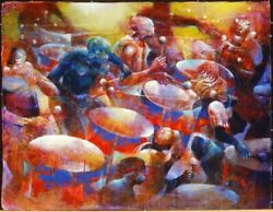 Paul Goodnight Musical Thunder - Limited Edition - African American Art Print