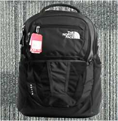 100% Full Tag North Face's Backpack Women's Recon 30L Black TNF Color School Bag