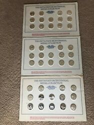 Vintage 50-state Bicentennial Silver Coins Mint Condition 42 States