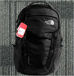 100% Full Tag North Face's Backpack Women's Surge 31L Black TNF Color School Bag