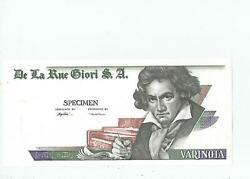 Giori Beethoven Test Note