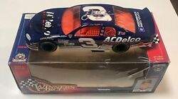 Dale Earnhardt Sr And Dale Earnhardt Jr Dual Signed 1998 Ac Delco 1/24 Diecast Car