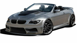 For 2004-2010 BMW 6 Series E63 E64 2DR Convertible AF-2 Wide Body Complete Kit (