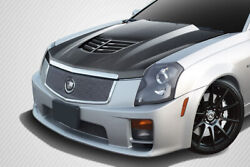 Carbon Creations Dritech Stingray Z Hood- 1 Piece For 2003-2007 Cts