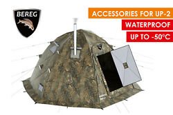 Arctic Cape for UP-2. Winter Insulated Waterproof Windproof