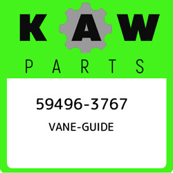 59496-3767 Kawasaki Vane-guide 594963767 New Genuine Oem Part