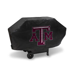 Texas Aandm Aggies Deluxe Heavy Duty Bbq Barbeque Grill Cover