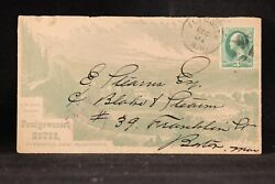 New Hampshire Plymouth Ca. 1879 Pemigewasset House Allover Advertising Cover