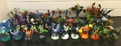 Activision Skylanders For The Wii - 40 Working Figures 2 Games 2 Round Portals