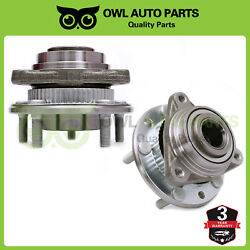 2 Front Wheel Bearing Hub For Chevy Gmc Olds Jimmy S10 Blazer Sonoma 4wd 513061