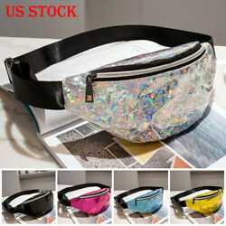 USA Women Waist Fanny Pack Belt Bag Chest Pouch Travel Hip Bum Bag Small Purse