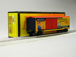 Mth Railking War Production 40' Double Door Box Car Us Army O Gauge 30-74939 New