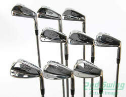 New Titleist T Stamp Forged Iron Set 2-PW Steel Stiff Right 37.75 in