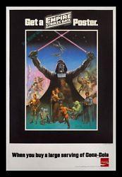 RAREST STAR WARS Movie THEATER 27x41 Poster OF ALL TIME! THE EMPIRE STRIKES BACK