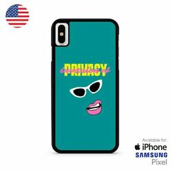 Invasion of Privacy Design Cardi B iPhone X Samsung S10 Pixel Case
