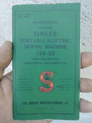 Table Top Singer Sewing Machine, Mint Condition, 1920s