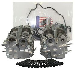 Toyota 5vz Dohc 3.4 Cylinder Heads 4runner T-100 Tacoma Pickup Head Set And Bolts