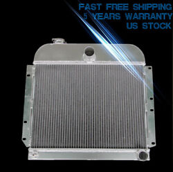 3 Rows Aluminum Radiator For 1941-1952 Plymouth Concord Special Deluxe L6 14 H