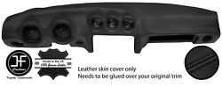 Black Stitching Dash Dashboard Leather Cover Fits Datsun 260z 2+2