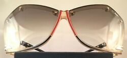 Vintage Cazal 860 Sunglasses-Multi Color; Good-to-Great Condition