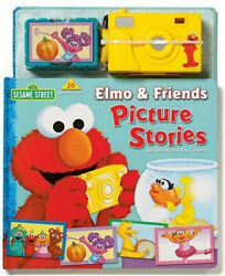 Elmo And Friends Picture Stories With Camera Sesame Street Board Book