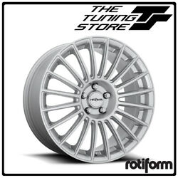 Bmw Style Alloy Wheels Staggered Set 20 Rotiform Buc Silver Finish 5x120