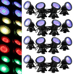 Lots Submersible 36 Led Rgb Pond Spot Lights For Underwater Pool Fountain Ip68